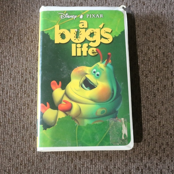 Disney Accents A Bugs Life Vhs Poshmark
